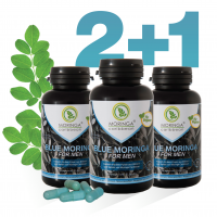 Blue Moringa for Men 2 + 1 gratis