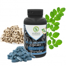 Moringa Caribbean 60+60 kapsúl BLUE MORINGA FOR MEN