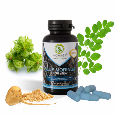 Blue moringa for men TURBO