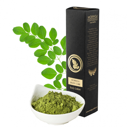 Moringa Body Care: Telové mlieko s Moringou