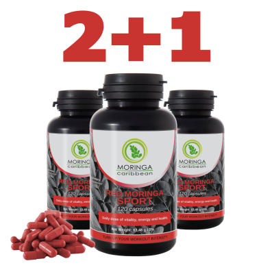 Red Moringa Sport 2+1