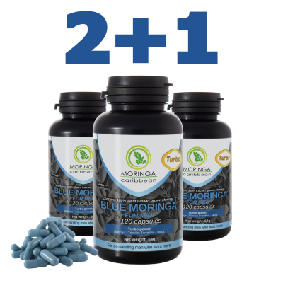 Blue Moringa Turbo 2+1